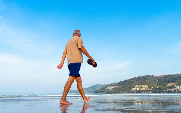 Maintenir autant que possible une activité physique en cas de maladie de Parkinson.